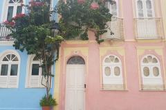 Bunte Fassaden in Salvador da Bahia