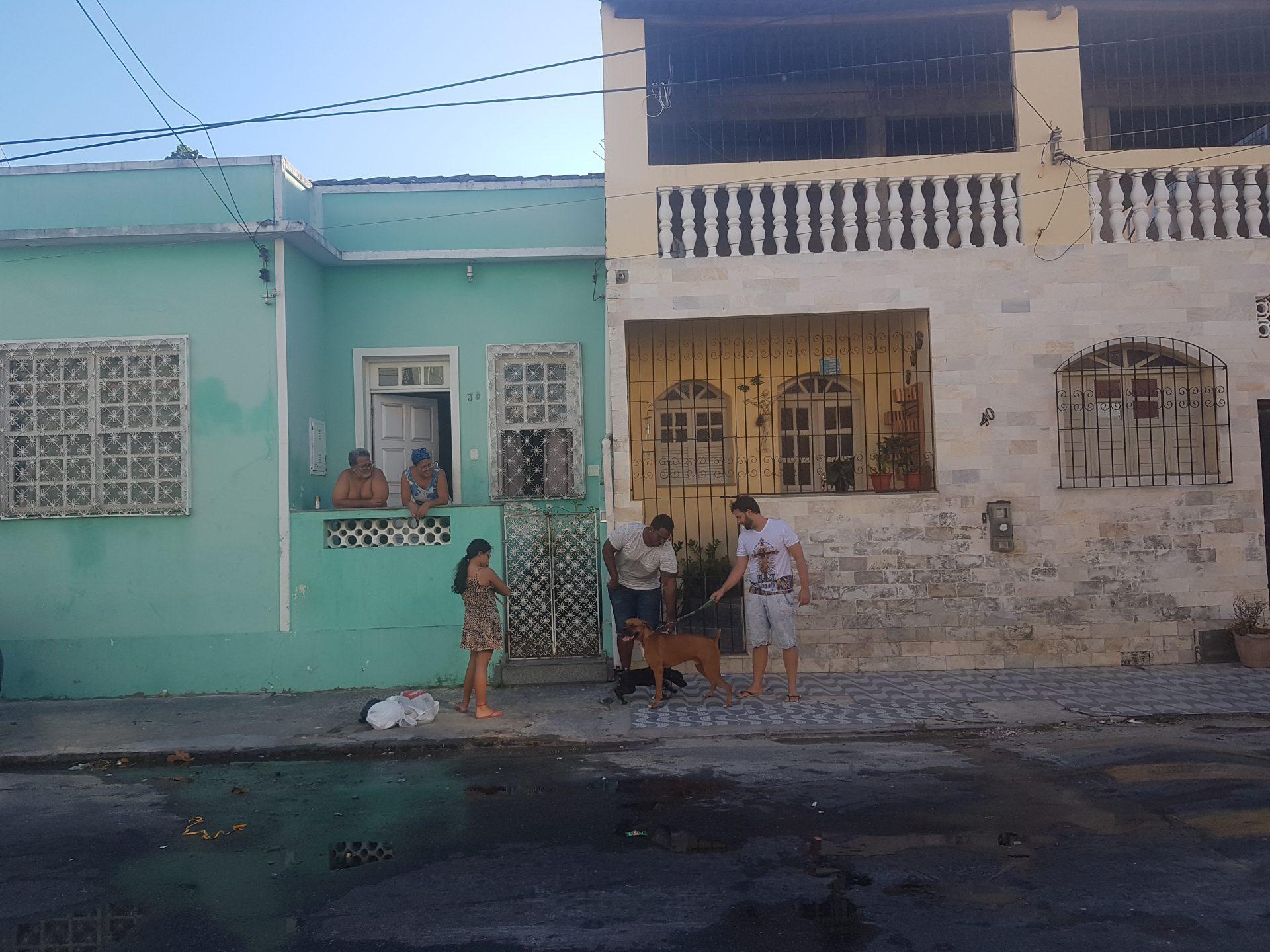 Salvador da Bahia Bonfim Monte Serrat Boa Viagem Spaziergang