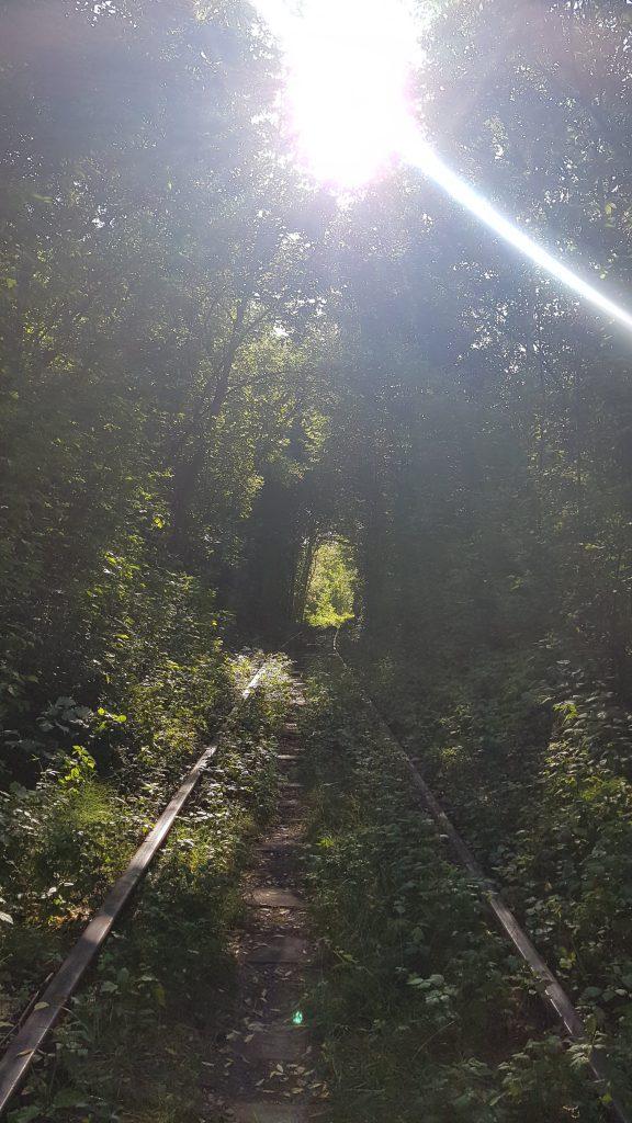 Tunnel of Love Ukraine Reise Erfahrung