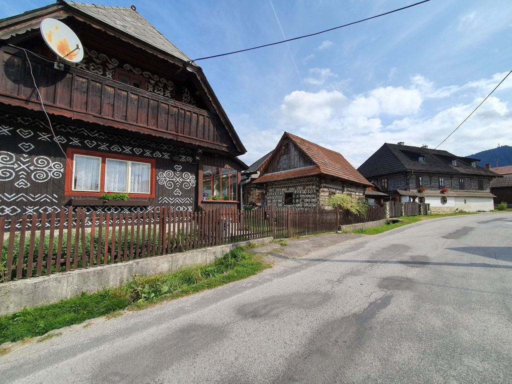 Cicmany Straßen Slowakei