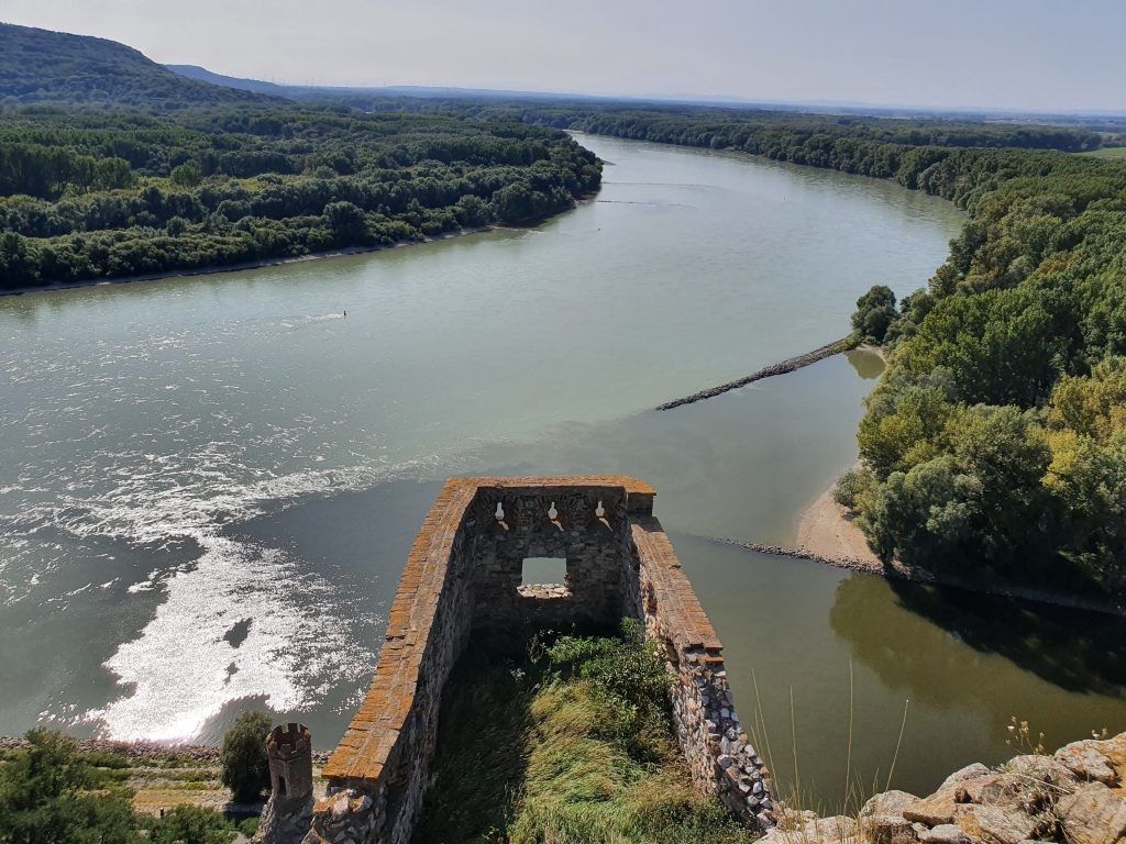 Slowakei Reise Erfahrung Burg Devín