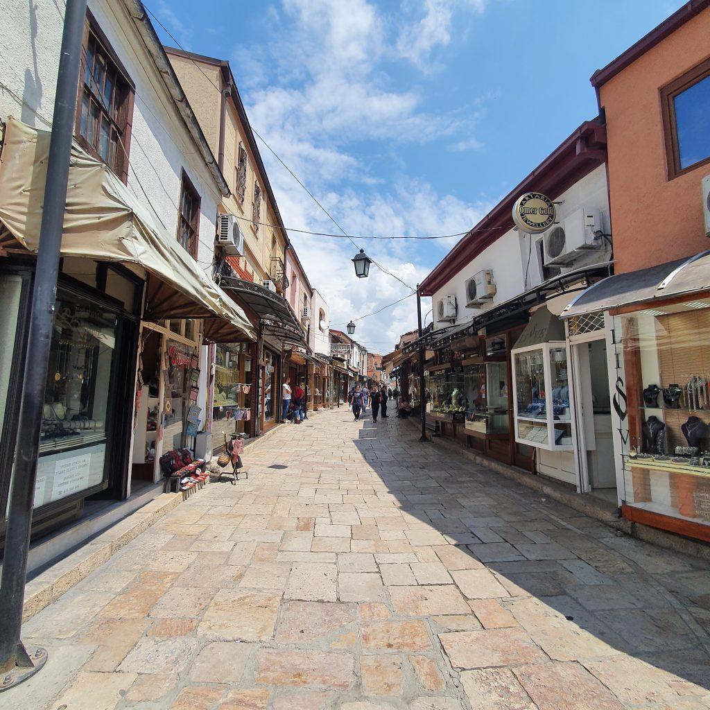 Sehenswürdigkeiten in Skopje Alter Basar Altstadt Nordmazedonien Reise