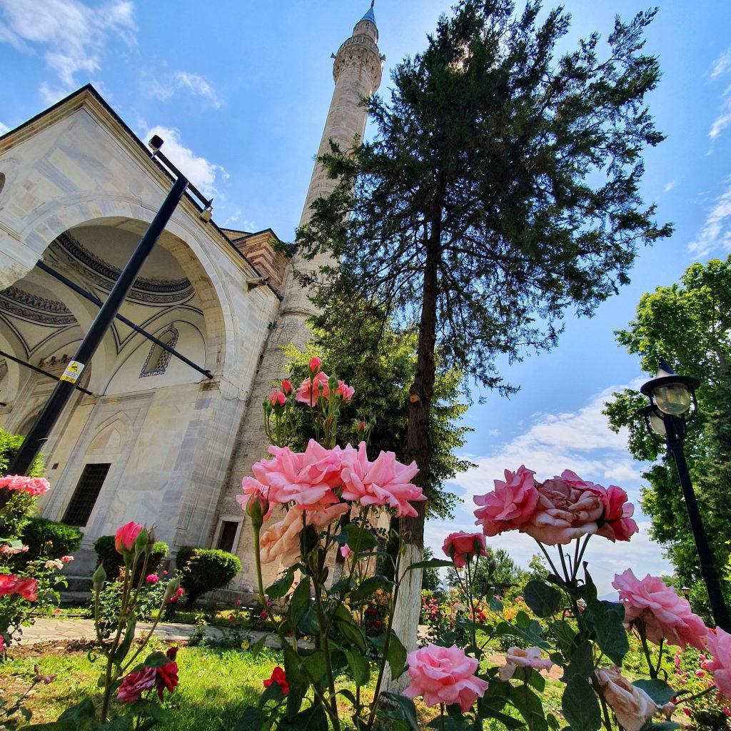 Sehenswürdigkeiten in Skopje Nordmazedonien Reise Moschee Altstadt