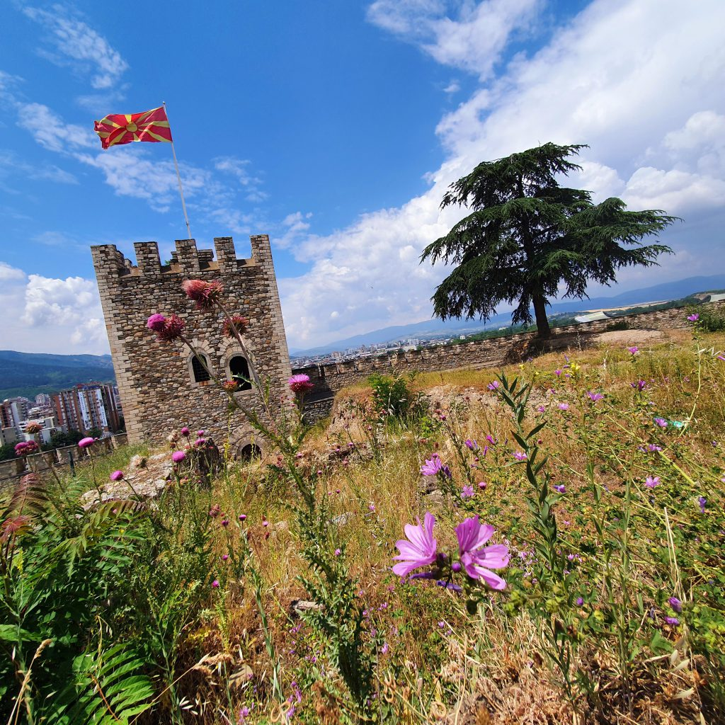 Sehenswürdigkeiten in Skopje Kale-Festung Nordmazedonien Reise Urlaub