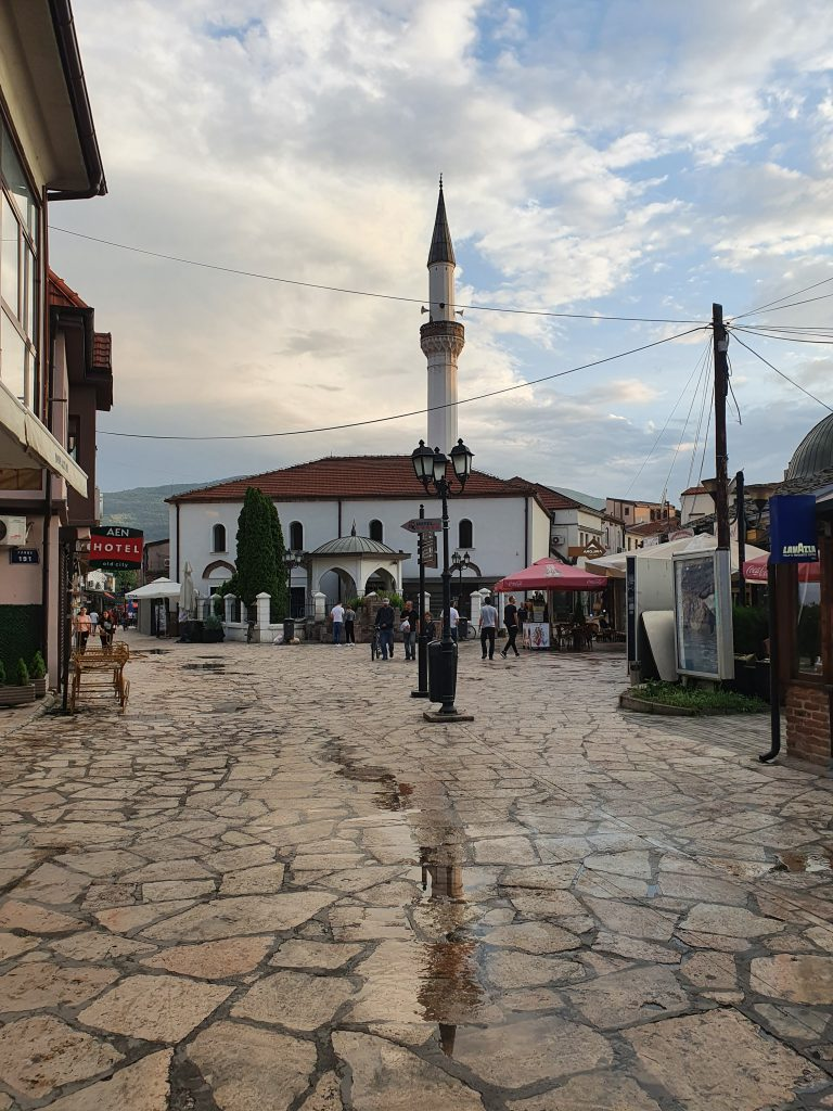 Sehenswürdigkeiten in Skopje Nordmazedonien Reise Altstadt Skopje Moschee osmanisch