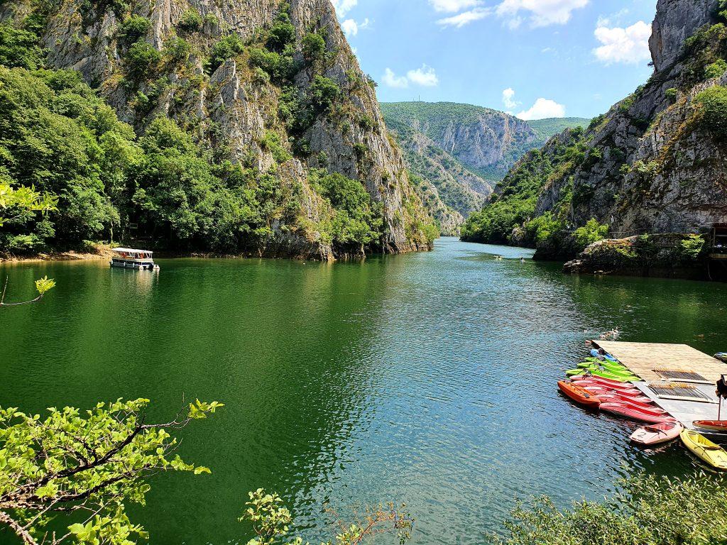 Matka-Canyon Nordmazedonien Sehenswürdigkeiten Nähe von Skopje