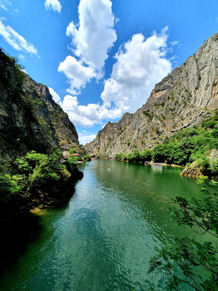 Sehenswürdigkeiten in Nordmazedonien Matka-Canyon Reise Nordmazedonien Balkan
