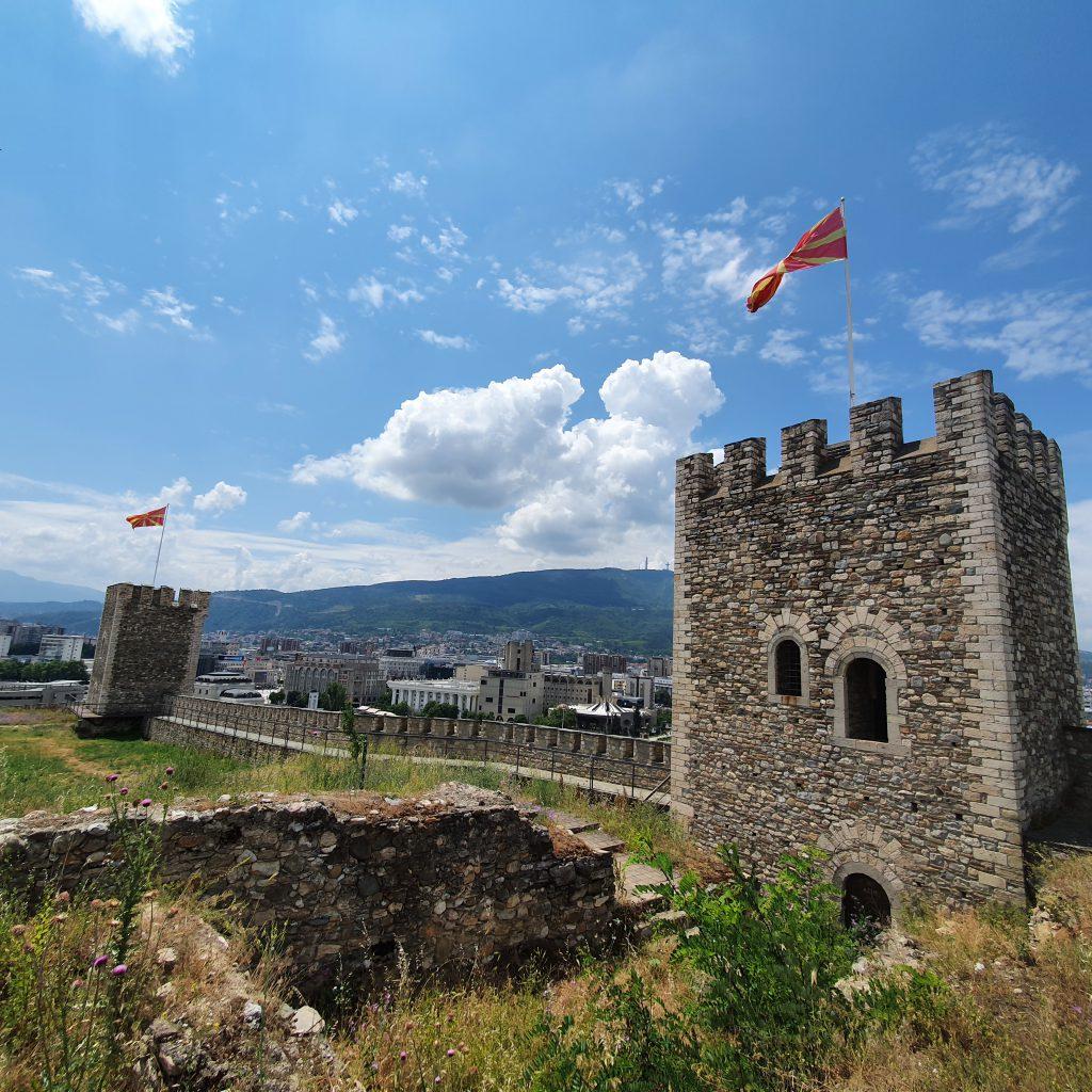 Kale-Festung Nordmazedonien Sehenswürdigkeiten interessante Fakten über Nordmazedonien