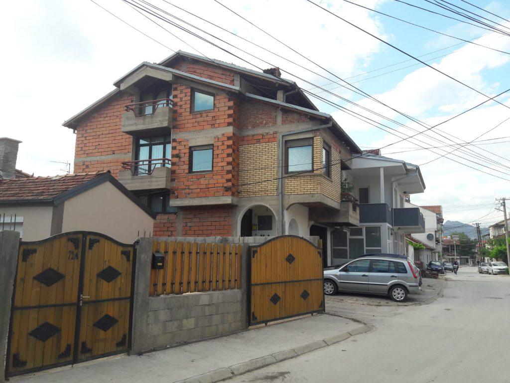 Häuser Fassade Nordmazedonien Sehenswürdigkeiten interessante Fakten über Nordmazedonien