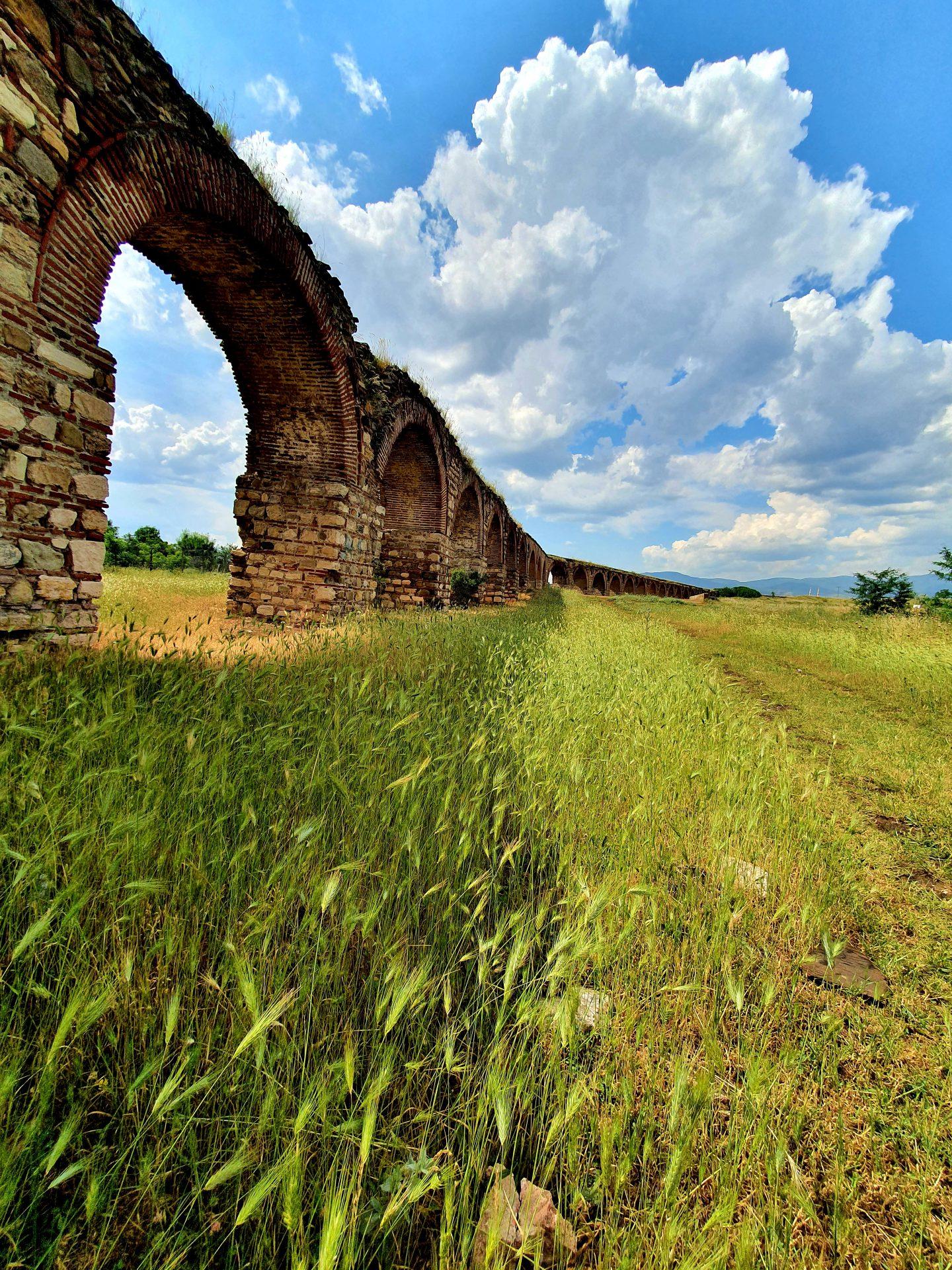 Aquädukt Skopje Anreise Reise Nordmazedonien Urlaub